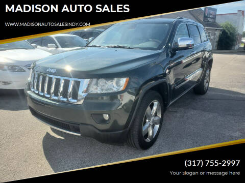 2011 Jeep Grand Cherokee for sale at MADISON AUTO SALES in Indianapolis IN