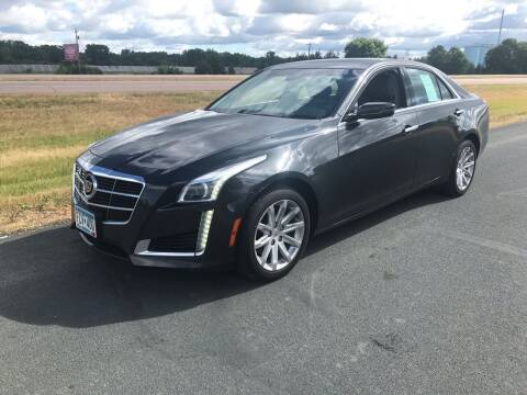 2014 Cadillac CTS for sale at Whi-Con Auto Brokers in Shakopee MN