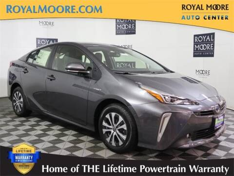 2021 Toyota Prius for sale at Royal Moore Custom Finance in Hillsboro OR