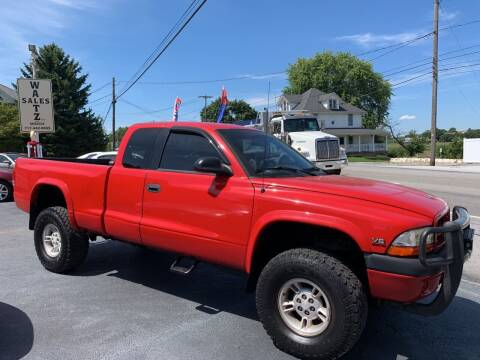 1997 Dodge Dakota for sale at Waltz Sales LLC in Gap PA
