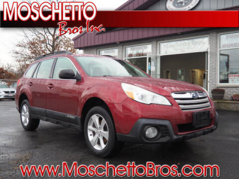 2014 Subaru Outback for sale at Moschetto Bros. Inc in Methuen MA