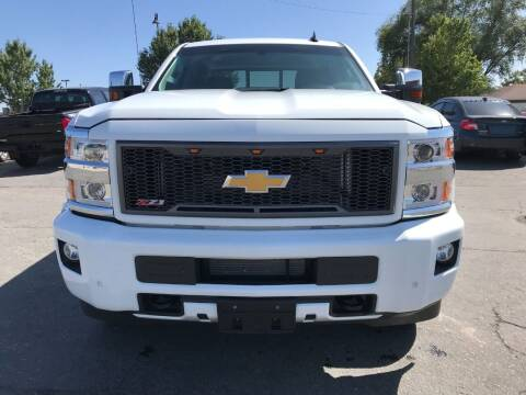 2016 Chevrolet Silverado 2500HD for sale at Rides Unlimited in Nampa ID