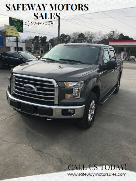 2016 Ford F-150 for sale at Safeway Motors Sales in Laurinburg NC