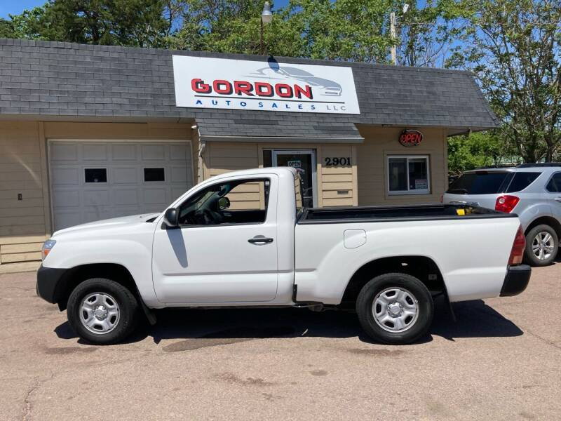 2013 Toyota Tacoma for sale at Gordon Auto Sales LLC in Sioux City IA