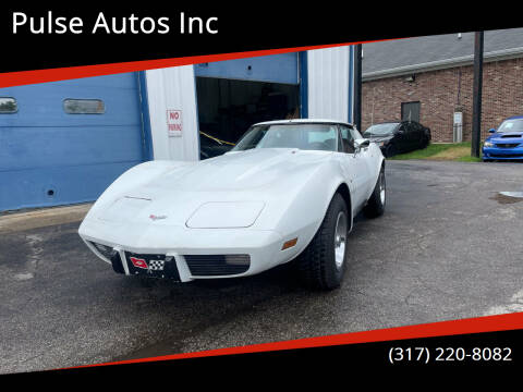 1977 Chevrolet Corvette for sale at Pulse Autos Inc in Indianapolis IN