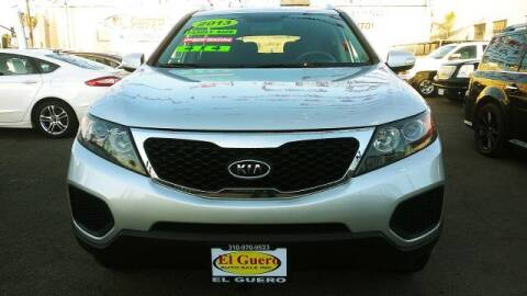 2013 Kia Sorento for sale at El Guero Auto Sale in Hawthorne CA