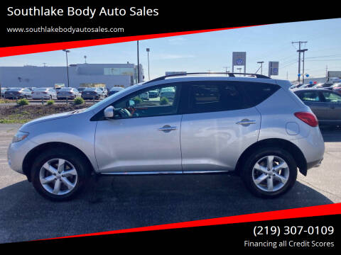 2010 Nissan Murano for sale at Southlake Body Auto Sales in Merrillville IN