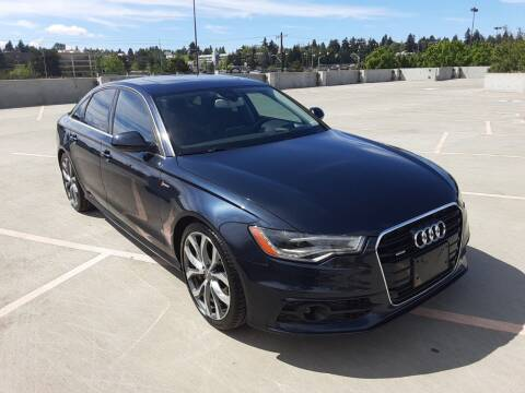 2012 Audi A6 for sale at METROPOLITAN MOTORS in Kirkland WA