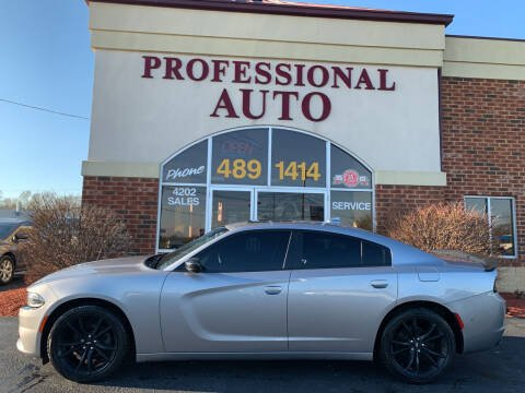 2018 Dodge Charger for sale at Professional Auto Sales & Service in Fort Wayne IN