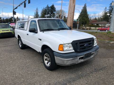 2005 Ford Ranger for sale at KARMA AUTO SALES in Federal Way WA