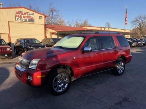 2008 Mercury Mountaineer for sale at Bryans Car Corner in Chickasha OK