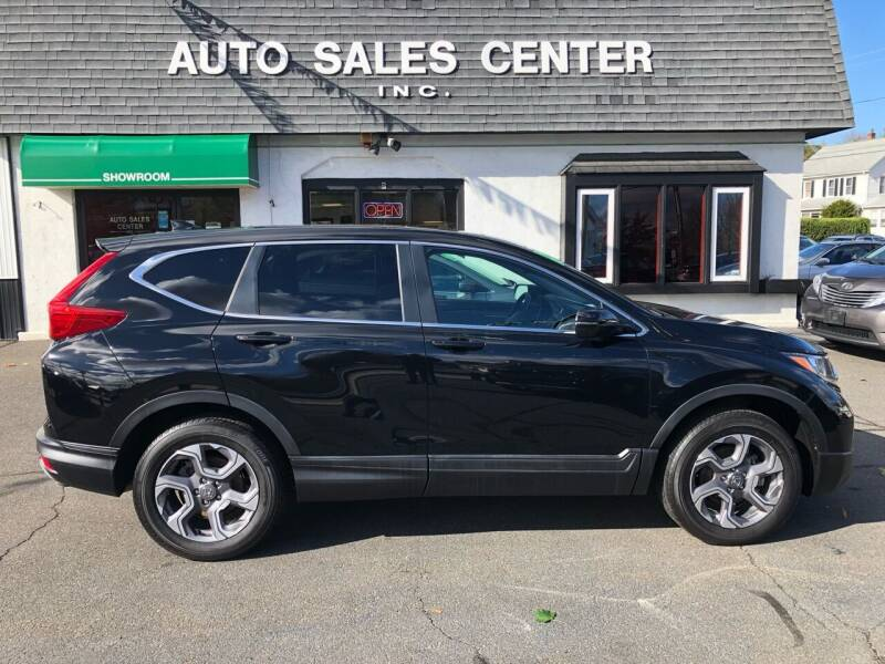 2018 Honda CR-V for sale at Auto Sales Center Inc in Holyoke MA