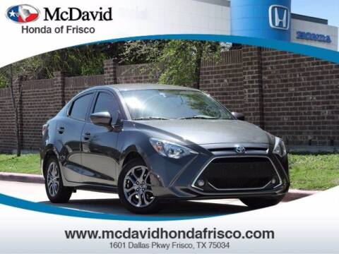2019 Toyota Yaris for sale at DAVID McDAVID HONDA OF IRVING in Irving TX