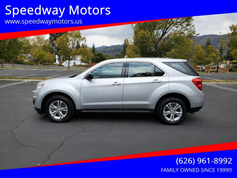 2011 Chevrolet Equinox for sale at Speedway Motors in Glendora CA