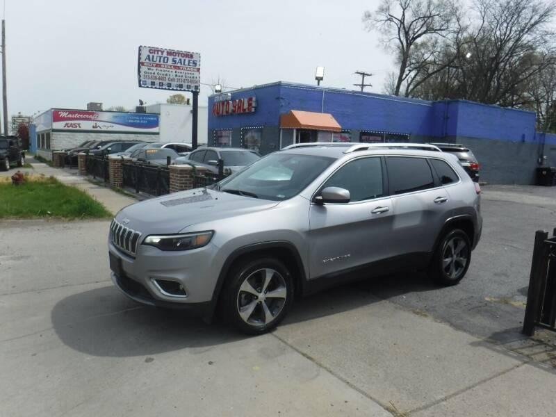 2019 Jeep Cherokee for sale at City Motors Auto Sale LLC in Redford MI