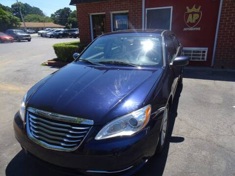 2012 Chrysler 200 for sale at AP Automotive in Cary NC