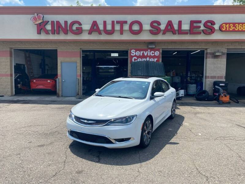 2016 Chrysler 200 for sale at KING AUTO SALES  II in Detroit MI