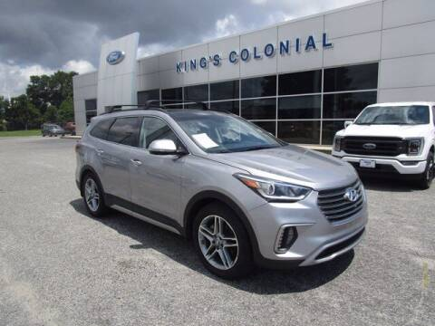 2017 Hyundai Santa Fe for sale at King's Colonial Ford in Brunswick GA