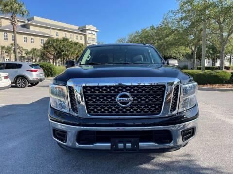 2018 Nissan Titan for sale at Gulf Financial Solutions Inc DBA GFS Autos in Panama City Beach FL
