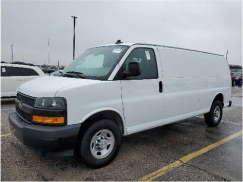 2020 Chevrolet Express Cargo for sale at CENTURY TRUCKS & VANS in Grand Prairie TX
