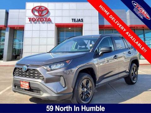 2019 Toyota RAV4 Hybrid for sale at TEJAS TOYOTA in Humble TX