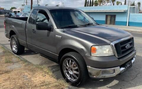 2004 Ford F-150 for sale at FJ Auto Sales in North Hollywood CA