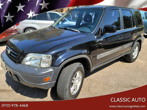 2001 Honda CR-V for sale at Classic Auto in Greeley CO