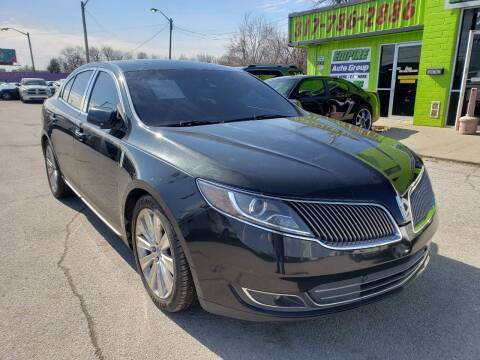 2013 Lincoln MKS for sale at Empire Auto Group in Indianapolis IN