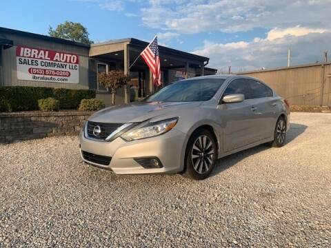 2017 Nissan Altima for sale at Ibral Auto in Milford OH