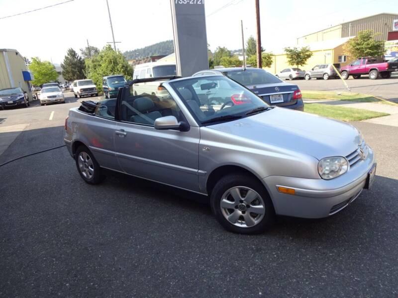 2002 Volkswagen Cabrio for sale in Bellingham, WA