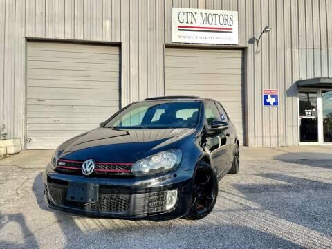 2010 Volkswagen GTI for sale at CTN MOTORS in Houston TX
