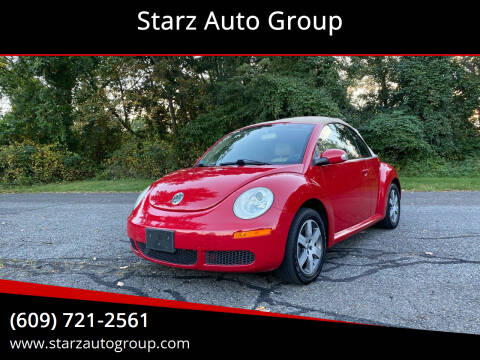 2006 Volkswagen New Beetle Convertible for sale at Starz Auto Group in Delran NJ