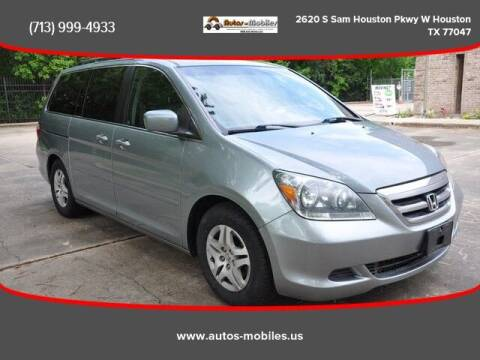 2007 Honda Odyssey for sale at AUTOS-MOBILES in Houston TX
