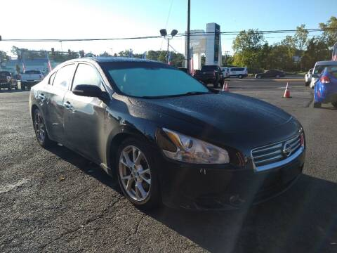 2012 Nissan Maxima for sale at P J McCafferty Inc in Langhorne PA