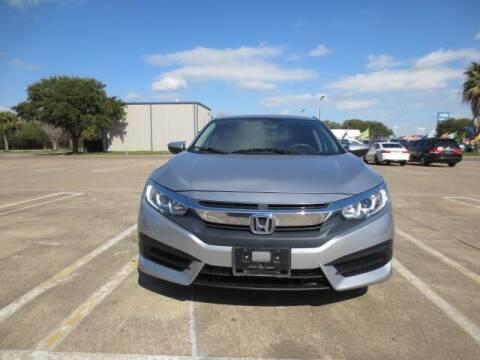 2017 Honda Civic for sale at MOTORS OF TEXAS in Houston TX