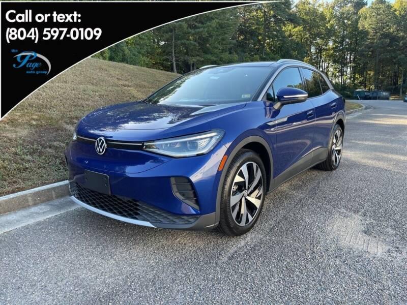 2021 Volkswagen ID.4 for sale in Richmond, VA