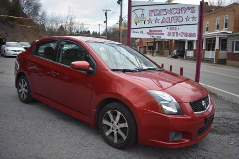2011 Nissan Sentra for sale at Frenchy's Auto LLC. in Pittsburgh PA