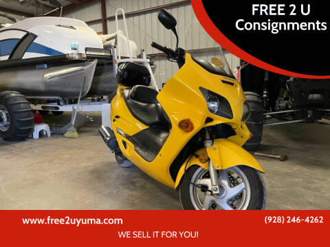2003 Honda Reflex for sale at FREE 2 U Consignments in Yuma AZ