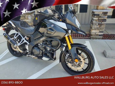 2014 Suzuki V STROM for sale at WALLBURG AUTO SALES LLC in Winston Salem NC
