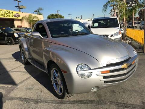 2004 Chevrolet SSR for sale at Sanmiguel Motors in South Gate CA
