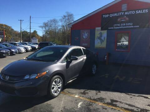 2014 Honda Civic for sale at Top Quality Auto Sales in Westport MA