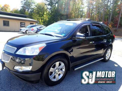 2012 Chevrolet Traverse for sale at S & J Motor Co Inc. in Merrimack NH