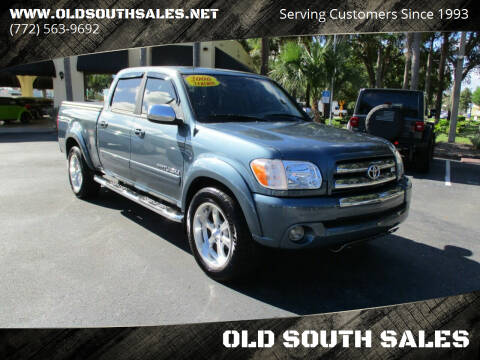 2006 Toyota Tundra for sale at OLD SOUTH SALES in Vero Beach FL