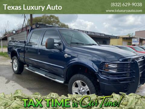 2005 Ford F-250 Super Duty for sale at Texas Luxury Auto in Houston TX