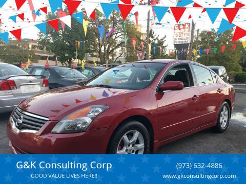 2009 Nissan Altima for sale at G&K Consulting Corp in Fair Lawn NJ