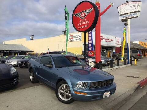 2006 Ford Mustang for sale at Auto Express in Chula Vista CA