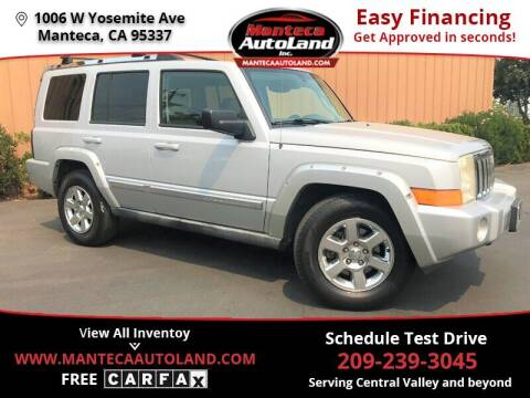 2006 Jeep Commander for sale at Manteca Auto Land in Manteca CA