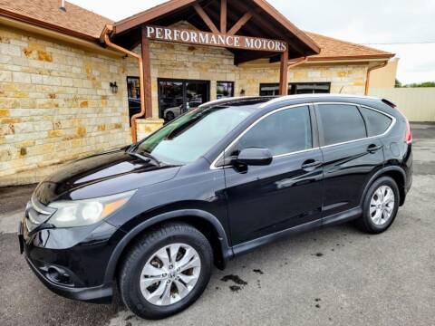 2013 Honda CR-V for sale at Performance Motors Killeen Second Chance in Killeen TX