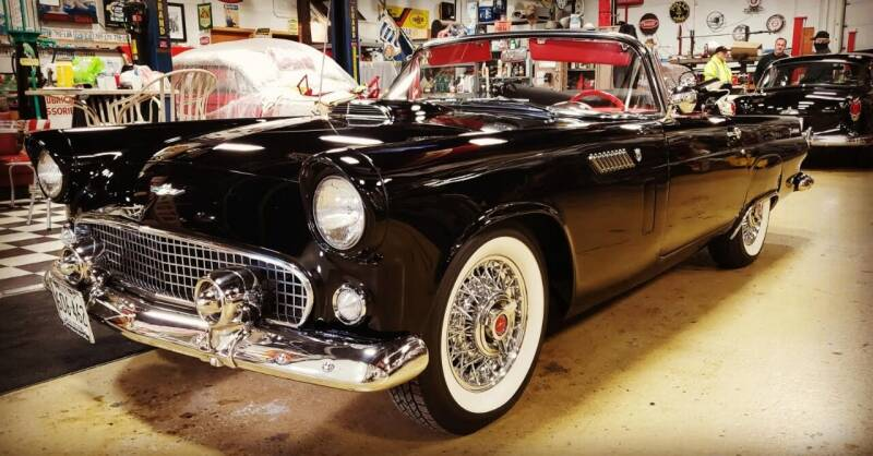 1956 Ford Thunderbird for sale at Midwest Classic Car in Belle Plaine MN