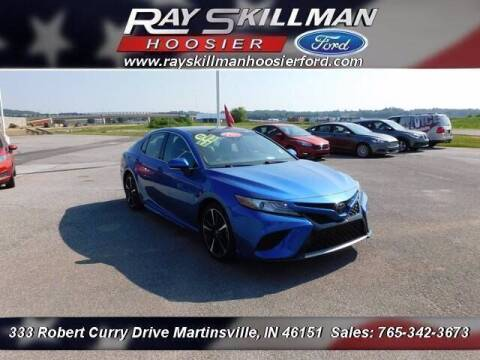 2018 Toyota Camry for sale at Ray Skillman Hoosier Ford in Martinsville IN